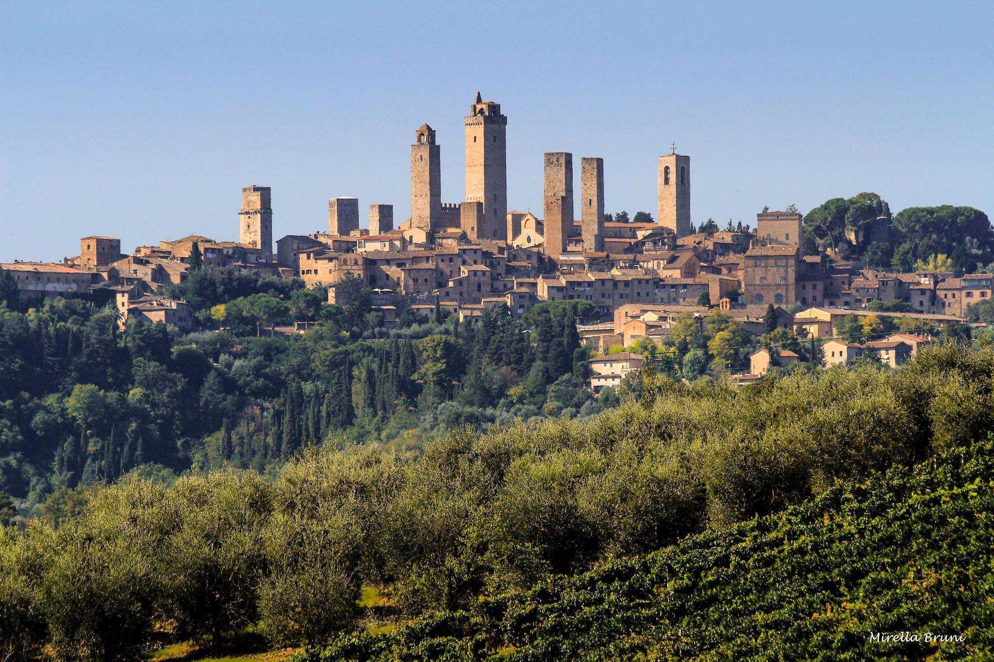 Oogstfeesten in San Gimignano