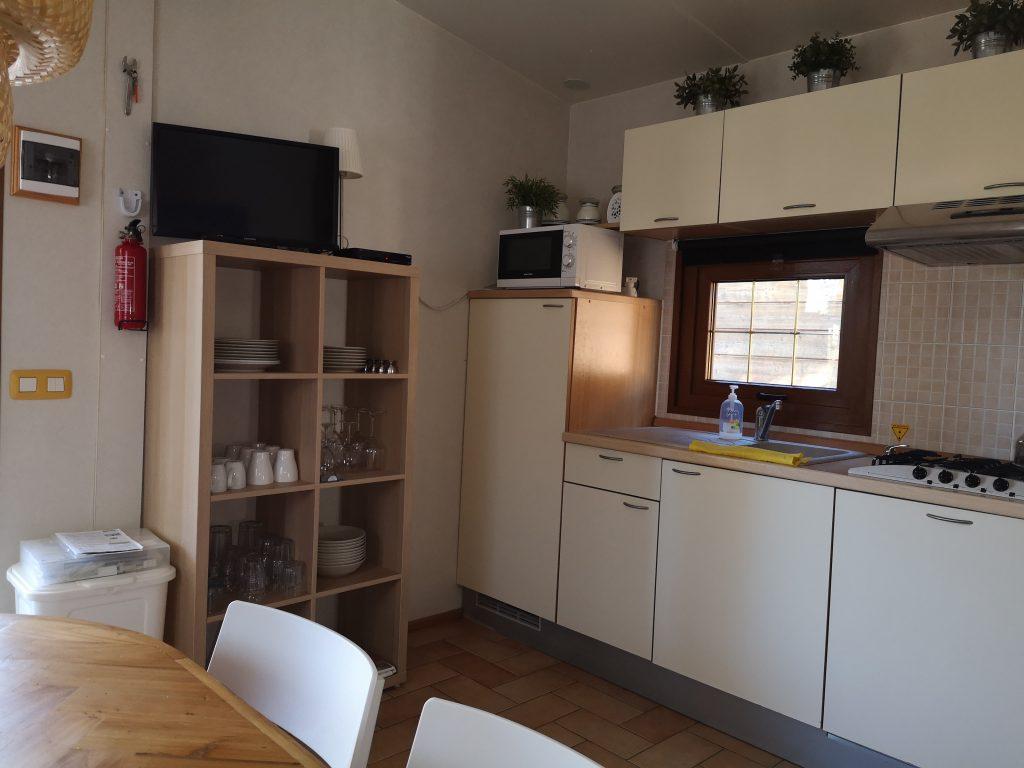 Keuken Chalet Di Fina van casaToscane