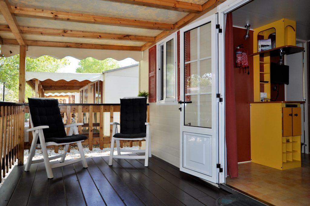 Veranda 5 personen Mobile Home | Chalet van CasaToscane