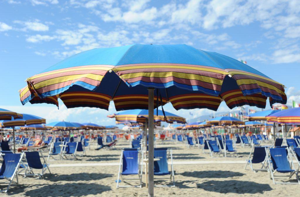 Strand van Viareggio