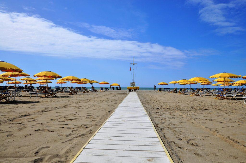 Strand Viareggio
