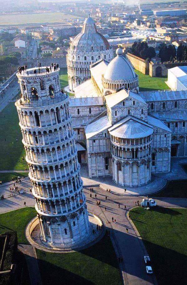 Pisa - Toren en Cathedraal